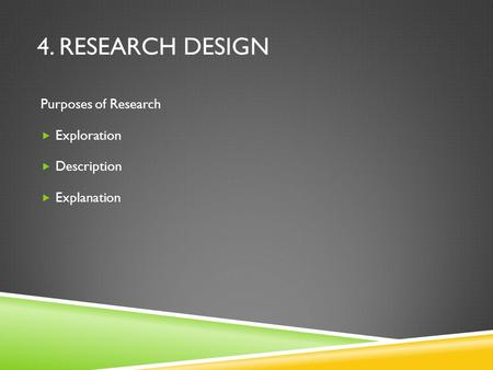 experimental design in research paper In scientific studies, experimental design is the gold standard of research designs this methodology relies on random assignment and laboratory controls to ensure the most valid, reliable results.