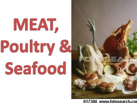 MEAT IS FROM ANIMALS, it is the edible flesh of animals.