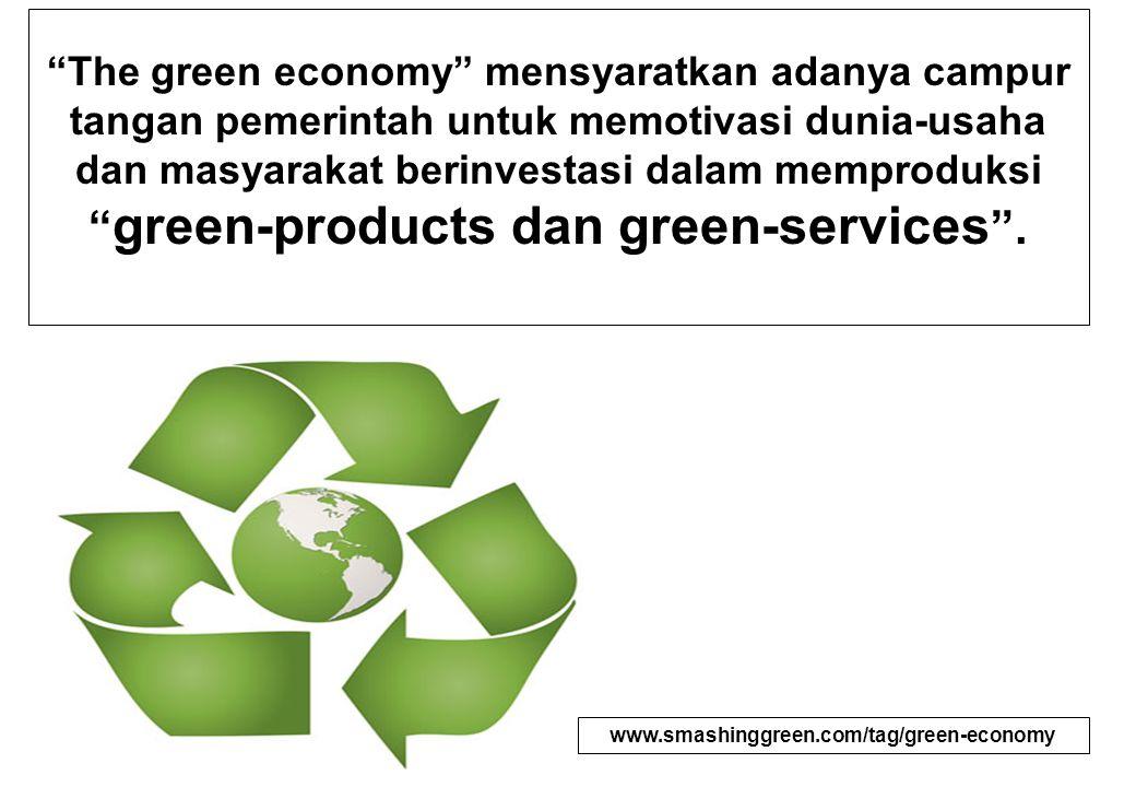 Sektor-sektor Ekonomi Hijau yang Prospektif : 1.