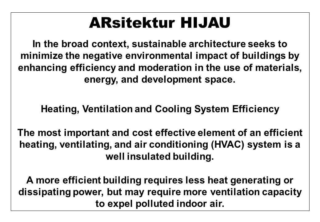 ZEB advantages 1.Isolation for building owners from future energy price increases 2.Increased comfort due to more-uniform interior temperatures (this can be demonstrated with comparative isotherm maps)isotherm 3.Reduced requirement for energy austerityausterity 4.Reduced total cost of ownership due to improved energy efficiencytotal cost of ownershipenergy efficiency 5.Reduced total net monthly cost of livingcost of living 6.Improved reliability - photovoltaic systems 7.Extra cost is minimized for new construction compared to an after- thought retrofit 8.Higher resale value as potential owners demand more ZEBs than available supply 9.The value of a ZEB building relative to similar conventional building should increase every time energy costs increase 10.Future legislative restrictions, and carbon emission taxes/ penalties may force expensive retrofits to inefficient buildings