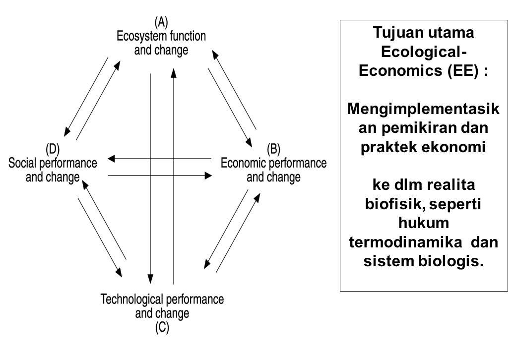 Sumbangan sumberdaya alam bagi kesejahteraan manusia : 1.the planetary endowment of scarce matter and energy, 2.