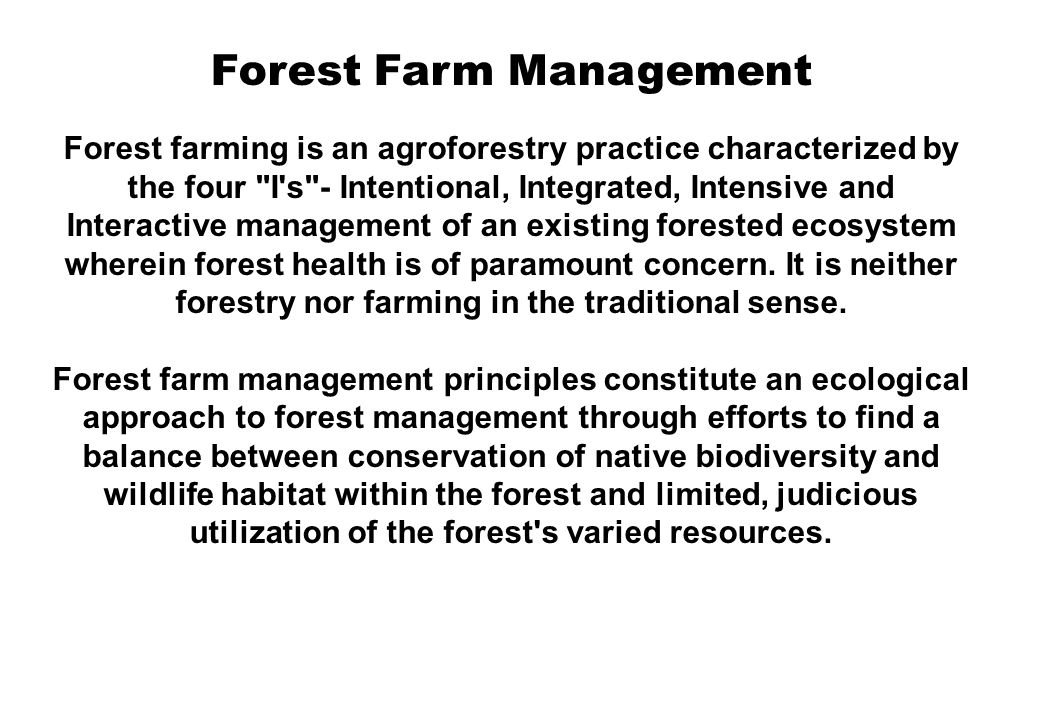 Sustainable griculture and Farming systems : 1.A sustainable farming system is a system in which natural resources are managed so that crop yields do not decline over time.