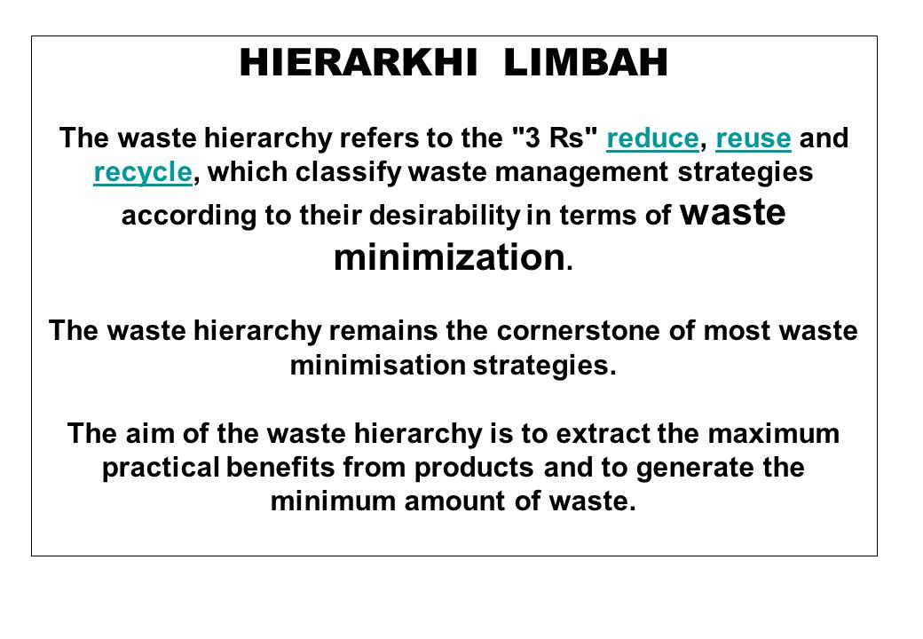 METODE PENGELOLAAN LIMBAH Landfill A properly-designed and well-managed landfill can be a hygienic and relatively inexpensive method of disposing of waste materials in a way that minimises their impact on the local environment.