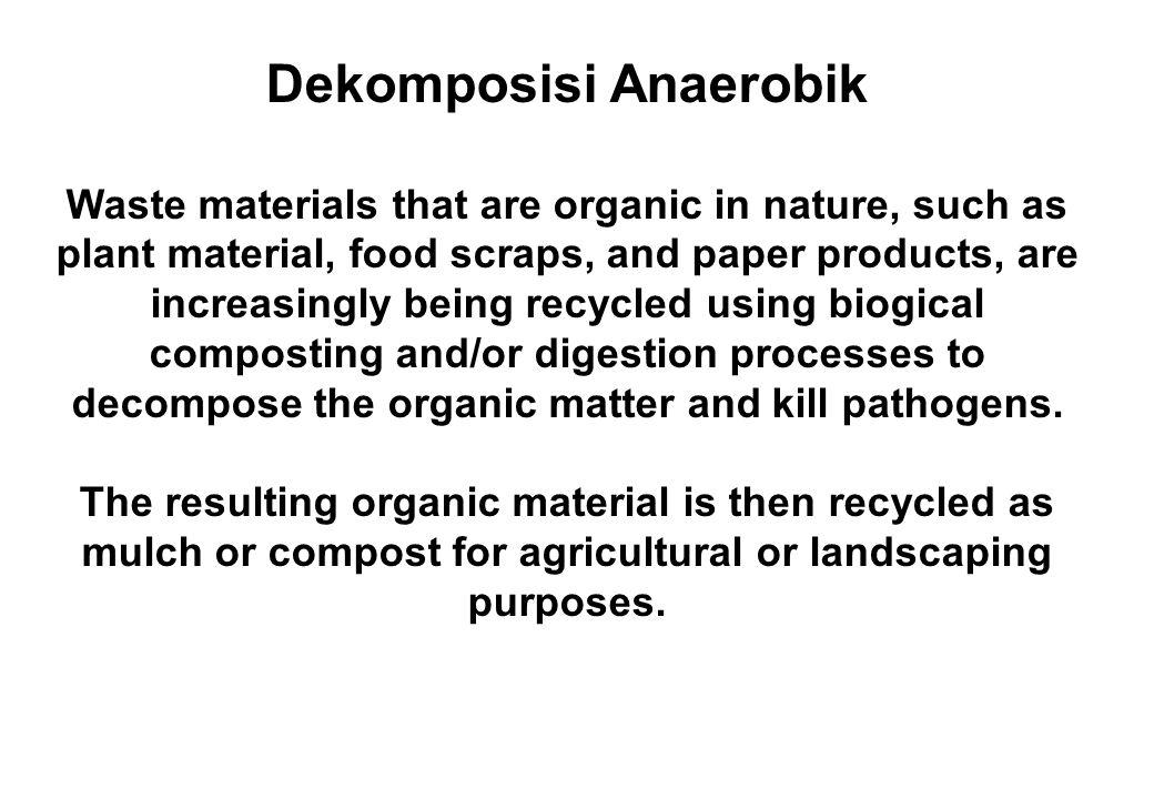 VERMI- KOMPOSTING Limbah organik yang mengandung logam berat Proses vermi-komposting: Dengan agen hayati Bakteri dan Cacing PUPUK KOMPOS: 1.