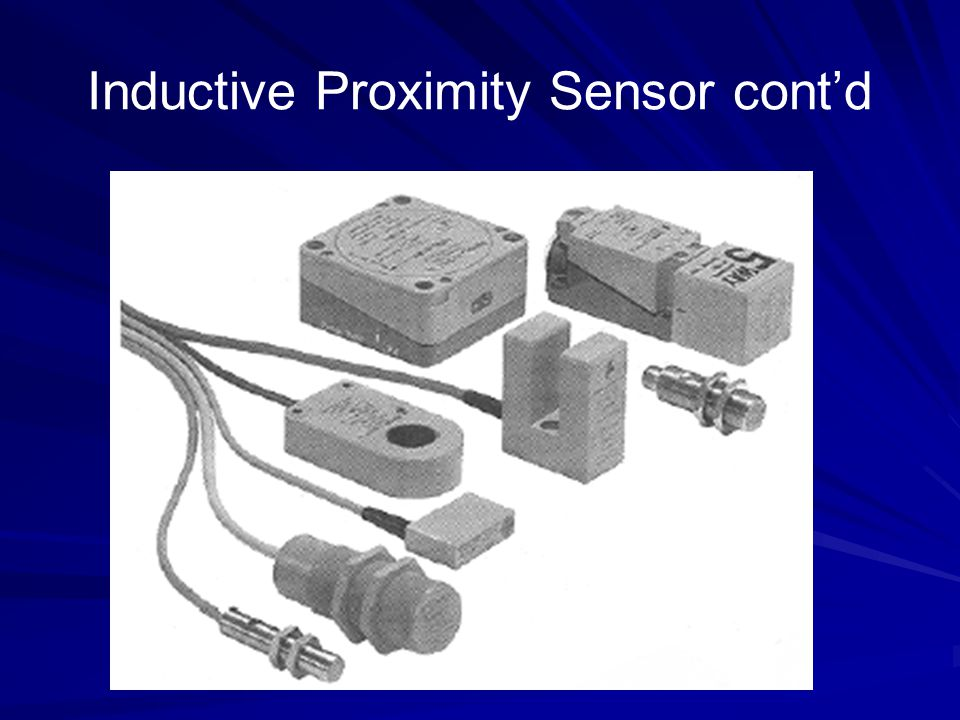 Capacitive Proximity Sensor Capacitive proximity sensors are available in shapes and sizes similar to the inductive proximity sensor capacitive proximity sensors will sense both metallic and non-metallic objects.