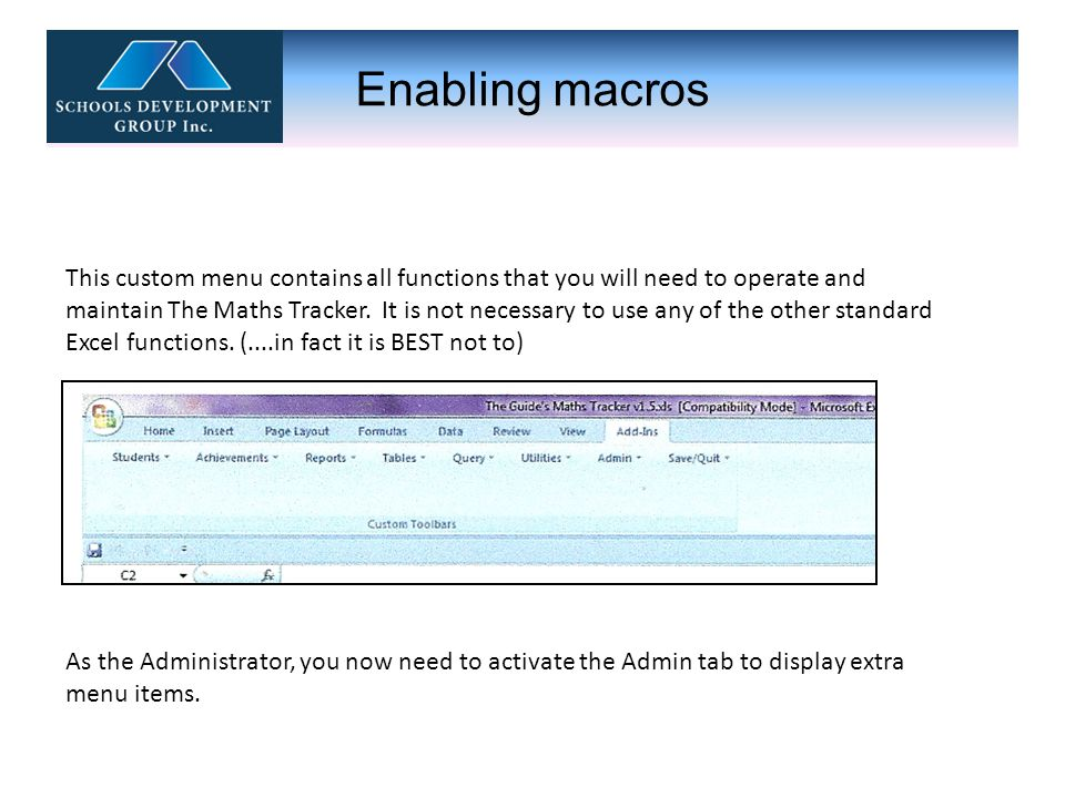 Custom Menu : Admin Tab This tab allows extra Admin menus to be displayed.