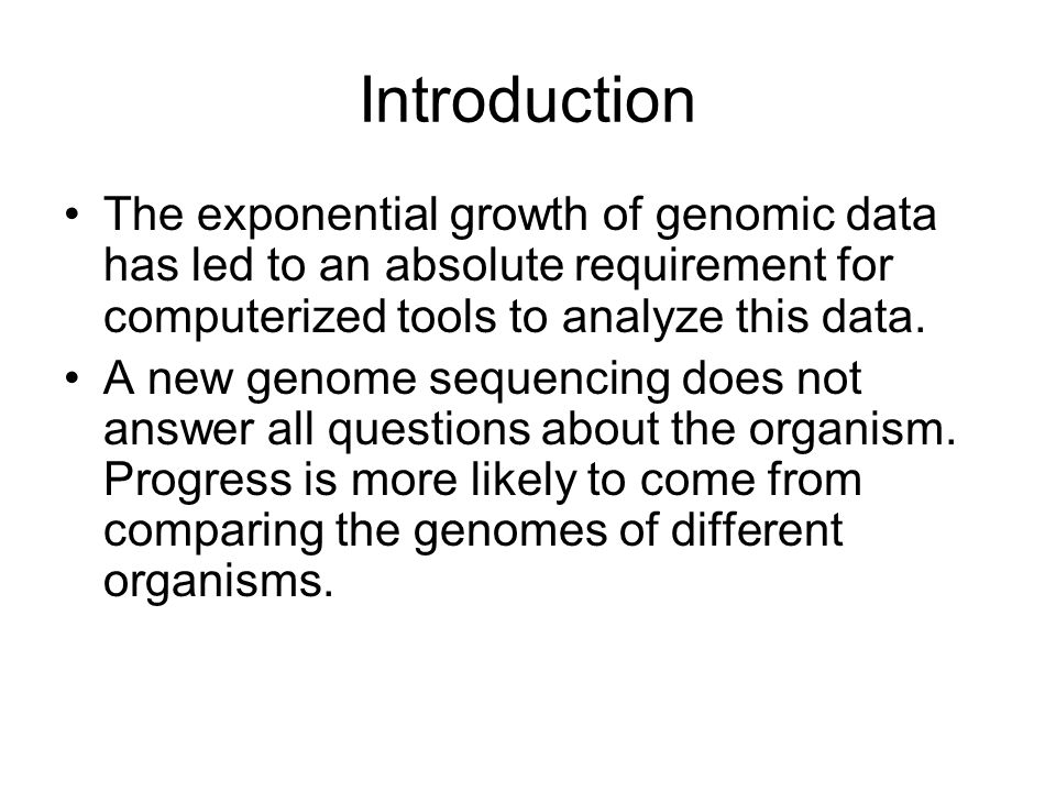 Introduction There are many tools and techniques to compare complete genomes and coding regions, but there is a lack for techniques for compare non-coding regions of DNA, which contains regulatory elements.