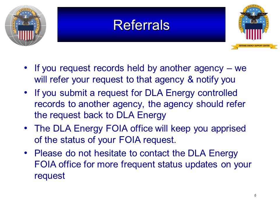 7 The FOIA Exemptions Nine FOIA Exemptions guide what can be released to requesters Focus today will be on Exemption 4 and the competing interests it addresses:  Requesters under FOIA want access to government documents that may contain information submitted by private entities (submitters)  Submitters of confidential commercial or financial information want that data protected