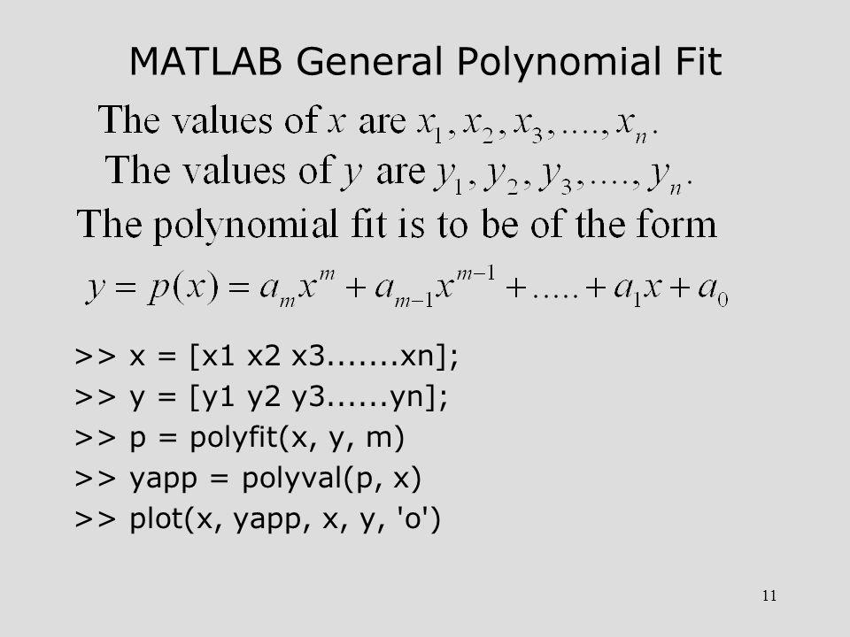 12 Example 13-2.Rework Example 13-1 using MATLAB.