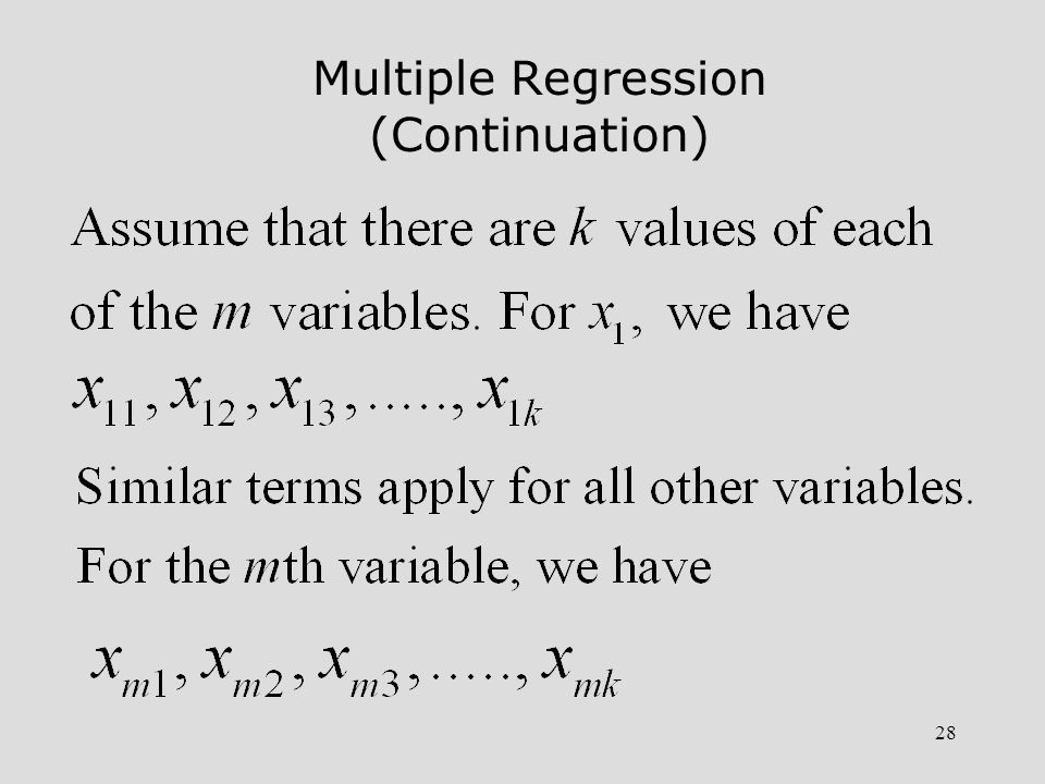 29 MATLAB Procedure for Linear Regression 1.