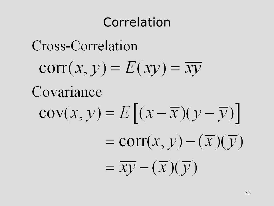 33 Correlation Coefficient