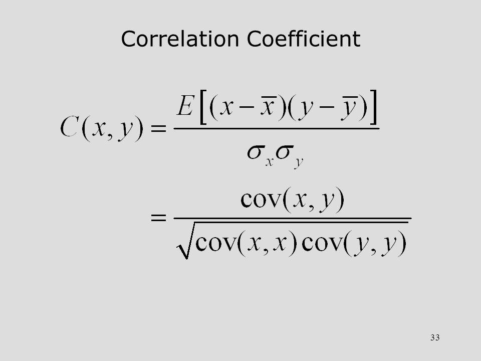 34 Implications of Correlation Coefficient 1.