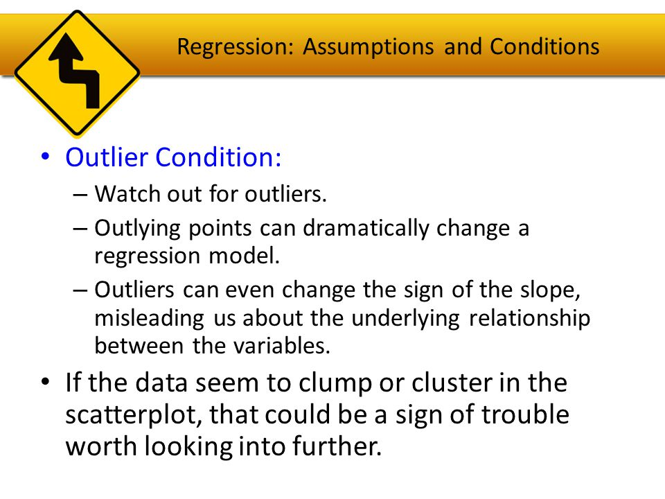 Reality Check: Is the Regression Reasonable.Statistics don't come out of nowhere.