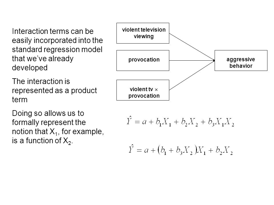 If we go back through the previous slides, we can see that the means for each group are provided by this equation.