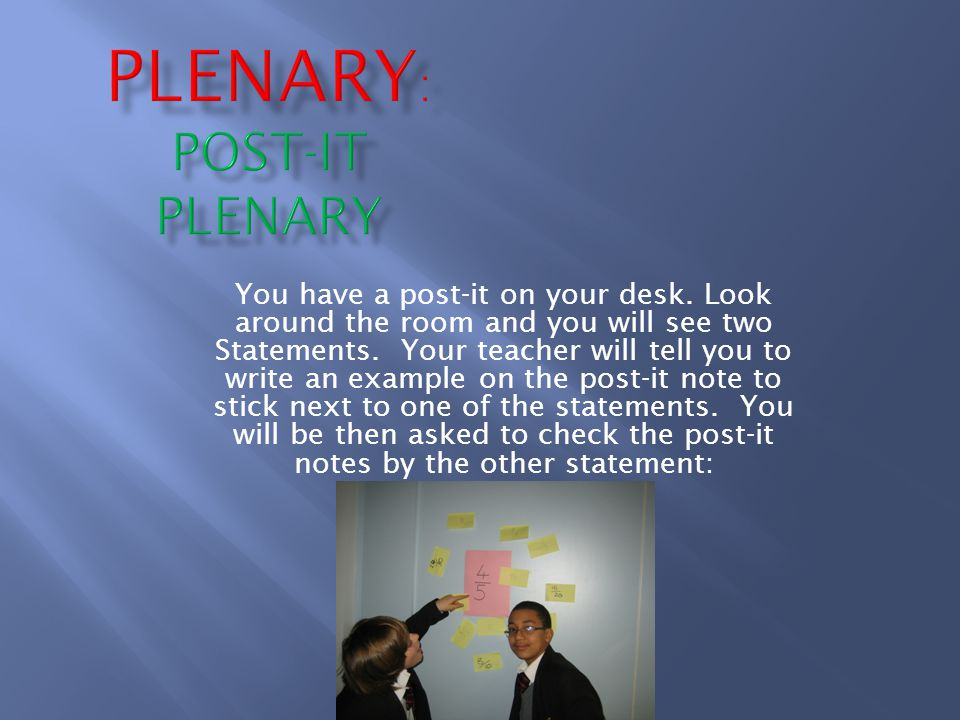 You are being given two pupils' work on topics you are currently learning about.