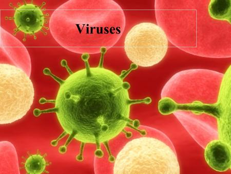 Viruses. Viruses are not a type of bacteria! Virus comes from the Latin word for poison. Viruses are so small they can only be seen with Electron Microscope.