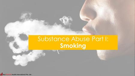 Substance Abuse Part I: Smoking. Studies show that cigarette smoking is most likely to become a habit during the adult years. TRUE FALSE Studies show.