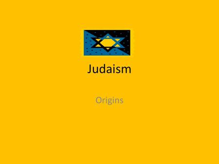 Judaism Origins. What is a Jew? Hard to define in terms of religious beliefs – Multiple beliefs and schisms within religion – Hasidic to Reform to Atheist.