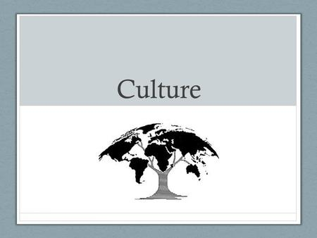 Culture. What is Culture? Culture: is the Language, Beliefs, values, norms, behaviors, and material objects that are passed from one generation to the.