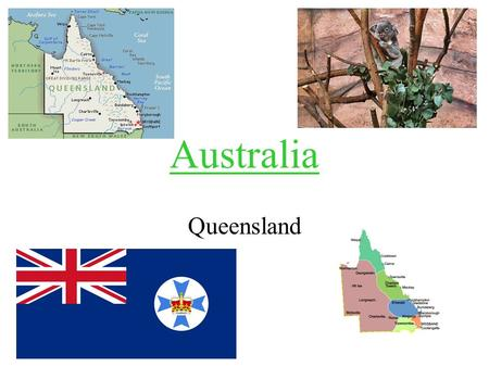 Australia Queensland. Geography Queensland is the second biggest region in Australia. It is in the north east of Australia.
