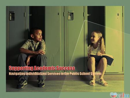 Navigating Individualized Services in the Public School System.