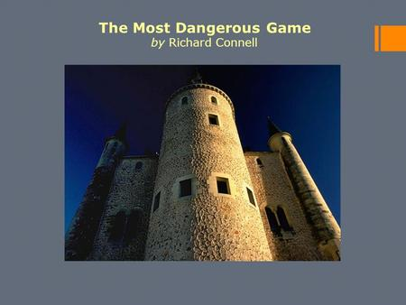 External and internal conflicts in richard connells the most dangerous game