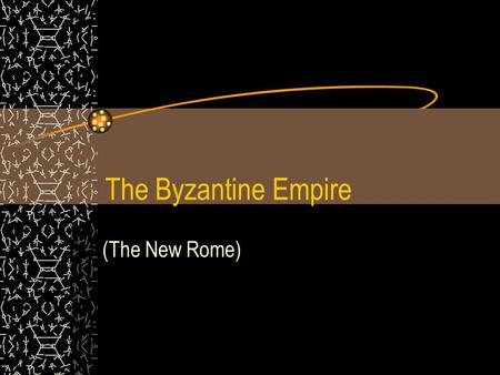 The Byzantine Empire (The New Rome). The Eastern Empire As Western Europe fell to the Germanic invasions, power shifted to the Byzantine Empire (the eastern.