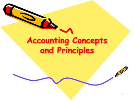 1 Accounting Concepts and Principles. 2 Introduction Actually there are a number of accounting concepts and principles based on which we prepare our accounts.