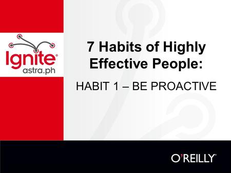 7 Habits of Highly Effective People  QuickMBA