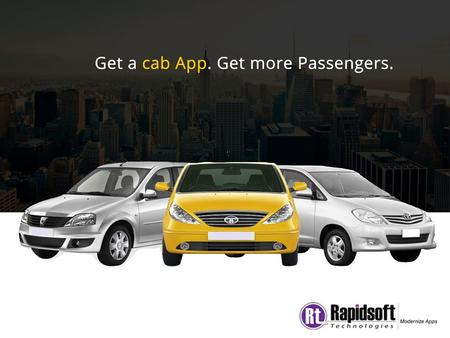 We have seen dramatic changes in personal transportation in last few years. Major credit goes to mobile app based taxi and car hailing system. Take the.