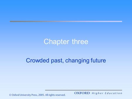 Chapter three Crowded past, changing future. Introduction – the aims of this lecture are to help you understand: Newspaper history, and the roles of prominent.