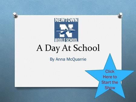 A Day At School By Anna McQuarrie Click Here to Start the Show.