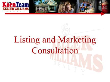 Listing and Marketing Consultation. Submit listing to MLS (Multiple Listing Service) The Myth: –MLS Does Not Sell Homes –It Makes Information 'Available'