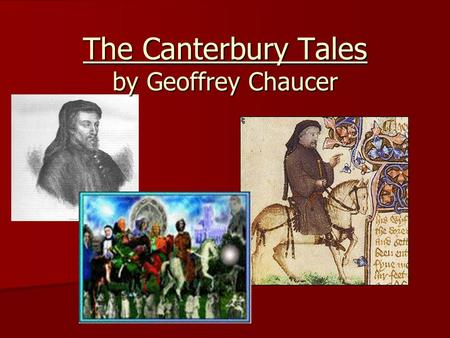 an overview of the literary criticism of the canterbury tales by geoffrey chaucer Geoffrey chaucer's masterpiece the canterbury tales is a collection of 24 stories the tales are mainly written as poems, though some are also in prose in this collectiona group of religious pilgrims travel from london to the canterbury cathedral in kent the pilgrims tell various tales as part of a story-telling contest the contest acts as a.