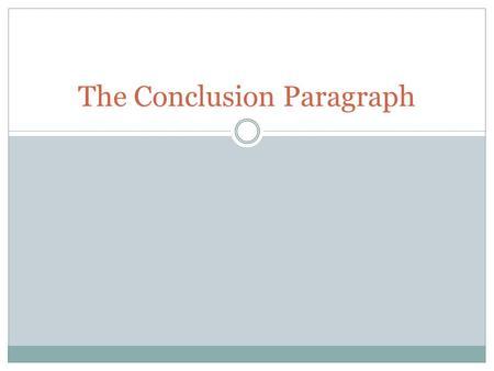 literary essay conclusion