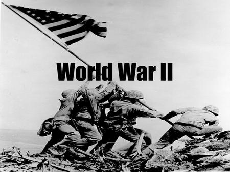 World War II. Introduction World War II was the mightiest struggle humankind has ever seen. It killed more people, cost more money, damaged more property,
