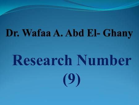 Research Number (9). Certain Epidemiological Aspects of Aeromonas hydrophila Infection in Chickens M. H. H. Awaad 1, M. E. Hatem 2, Wafaa A. Abd El-Ghany.