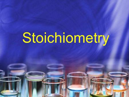 Stoichiometry. What is stoichiometry? Composition stoich – deals with mass relationships of elements in compounds (review Ch 3) Reaction stoich – deals.