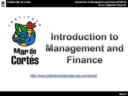 introduction to finance week 1 Back to course 'bus202: principles of finance' unit 1: introduction to finance, financial statements, and financial analysis finance is a broad subject,.