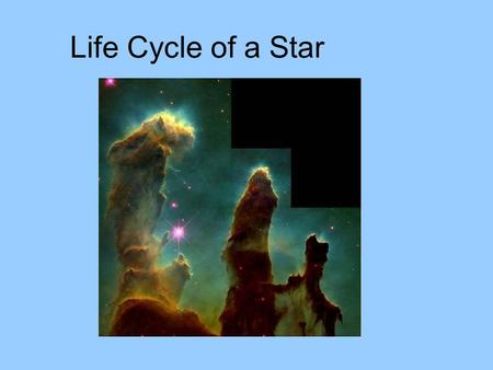 Life Cycle of a Star. Life Cycle of a Star like the Sun Mass is similar to the sun.
