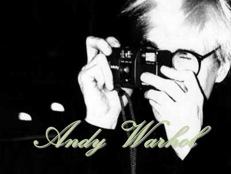 Andy Warhol. Andy Warhol, was an American painter, printmaker, and filmmaker who was a leading figure in the visual art movement known as pop art. After.