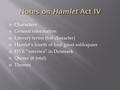 soliloquies of hamlet The hamlet soliloquy that begins to be or not to be is the most famous shakespeare speech what does hamlet soliloquy analysis indicate.