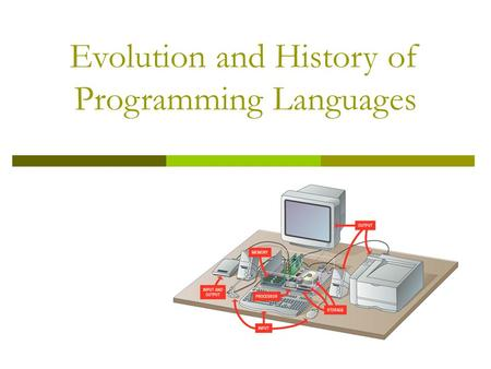 "the evolution of computer programming languages I certainly didn't expect a ""comprehensive-exhaustive-treatise on programming languages"" as you suggest, but when the title promises ""evolution of computer languages"" i also don't expect a ""quick [and dirty] look at programming languages."