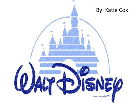 "By: Katie Cox. ""The Walt Disney Company's objective is to be one of the world's leading producers and providers of entertainment and information, using."