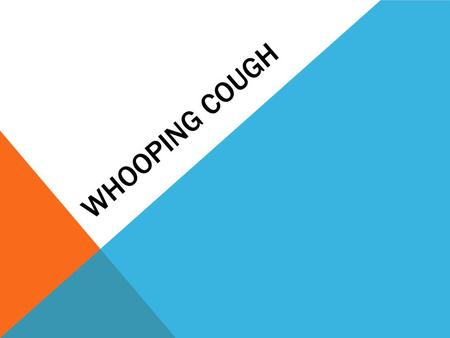 WHOOPING COUGH. WHOOPING COUGH FACTS Whooping cough is highly preventable. There are aprroximately 20000-200000 cases of pertussis every year(Mayoclinic).