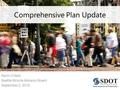 Comprehensive Plan Update Kevin O'Neill Seattle Bicycle Advisory Board September 2, 2015.