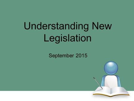 Understanding New Legislation September 2015. A PSA may participate in institutional fundraisers prior to his or her initial collegiate enrollment provided.