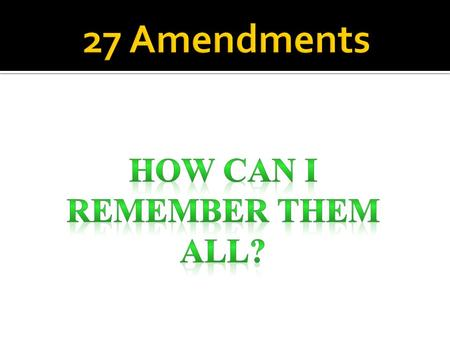 Amendment One This prohibits Congress from interfering with freedom of speech, press, and religion, and with the right to assemble peaceably and to petition.