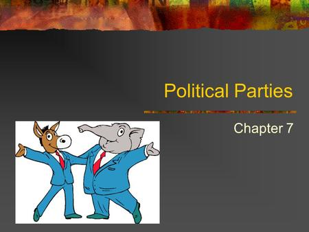 the role of political parties Dictate a role for parties indeed, in most countries, parties operate in a realm  political parties and democracy 245  parties political parties.