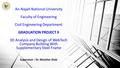 Supervisor : Dr. Monther Diab An-Najah National University Faculty of Engineering Civil Engineering Department GRADUATION PROJECT II 3D Analysis and Design.